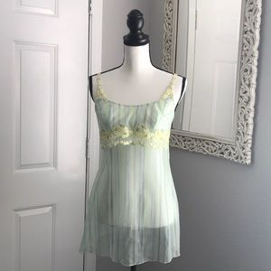 Beautiful flower embroidery camisole